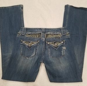 Miss Me Women's sz 30 x 32 Boot Cut Medium Wash